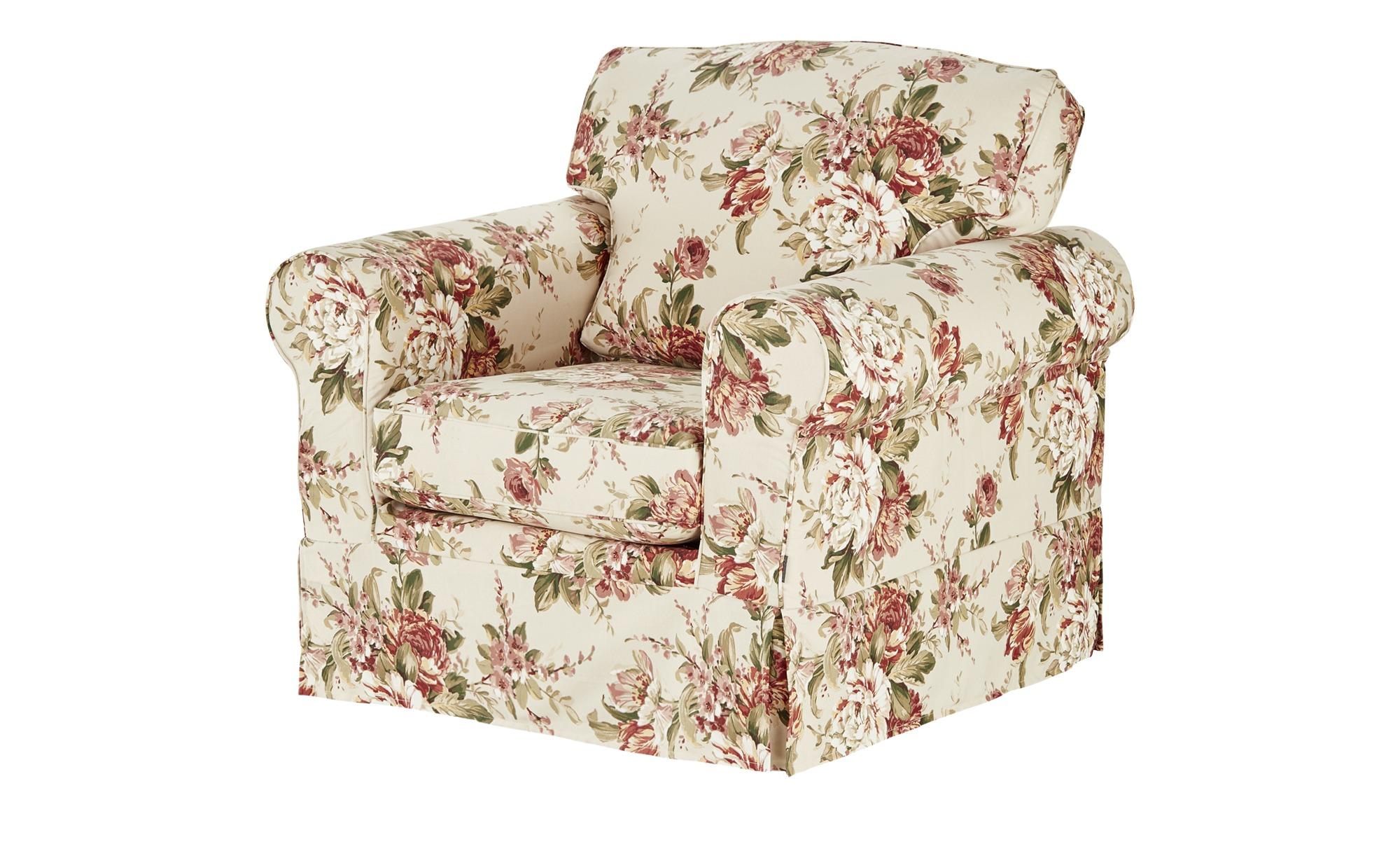 Sessel mit Husse bunt - Stoff