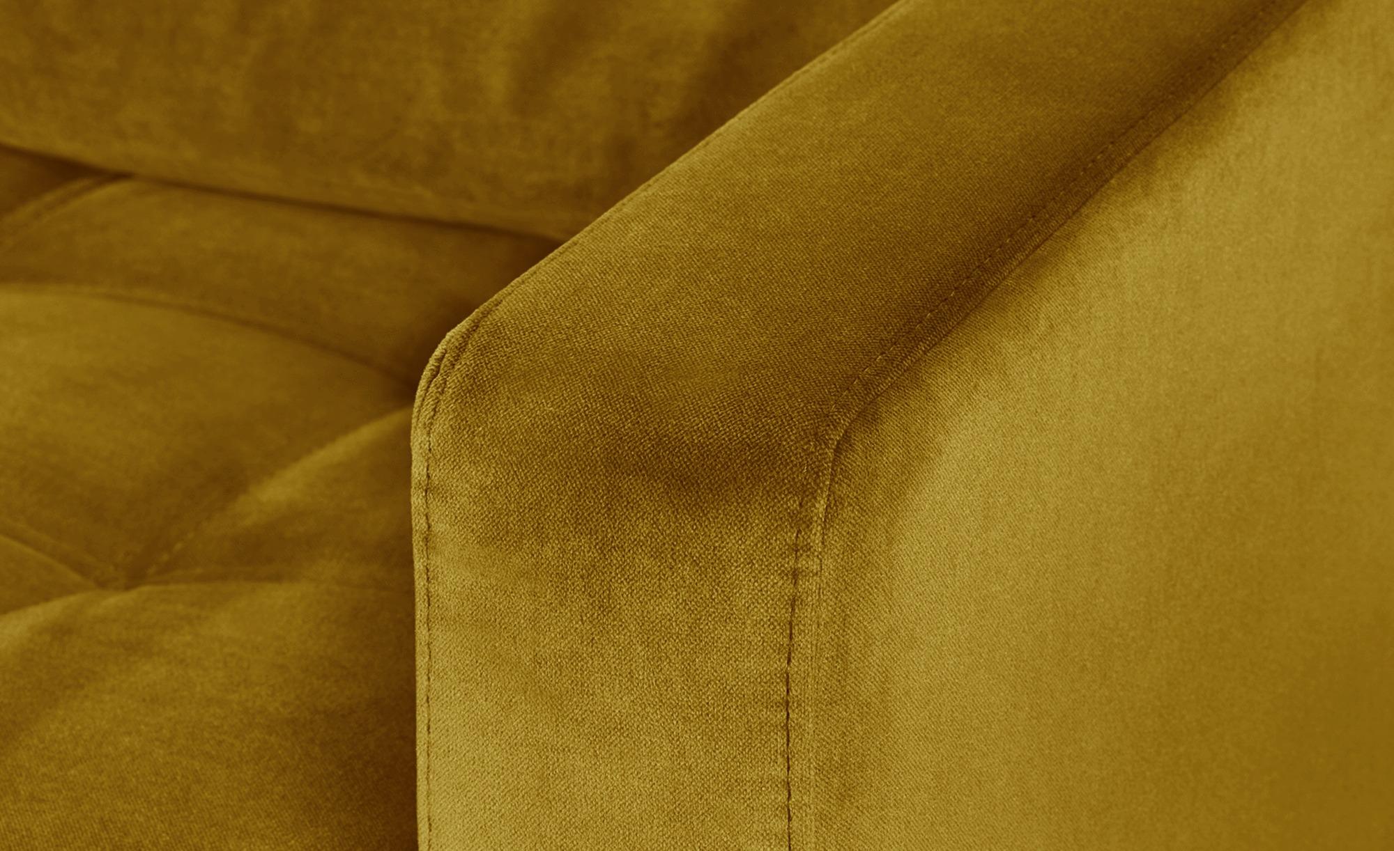 smart Sessel gelb - Stoff Geradine