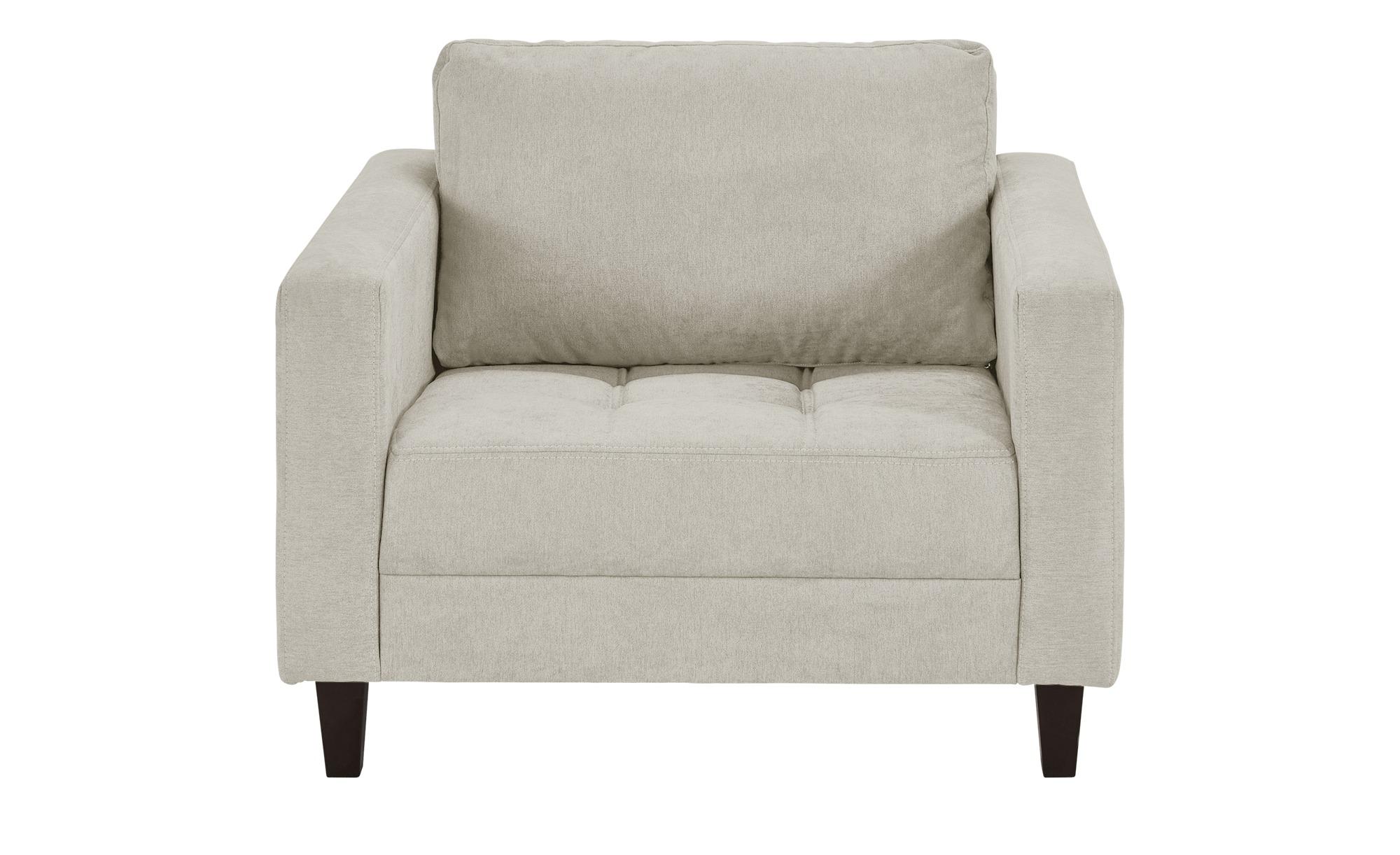 smart Sessel weiß - Stoff Geradine