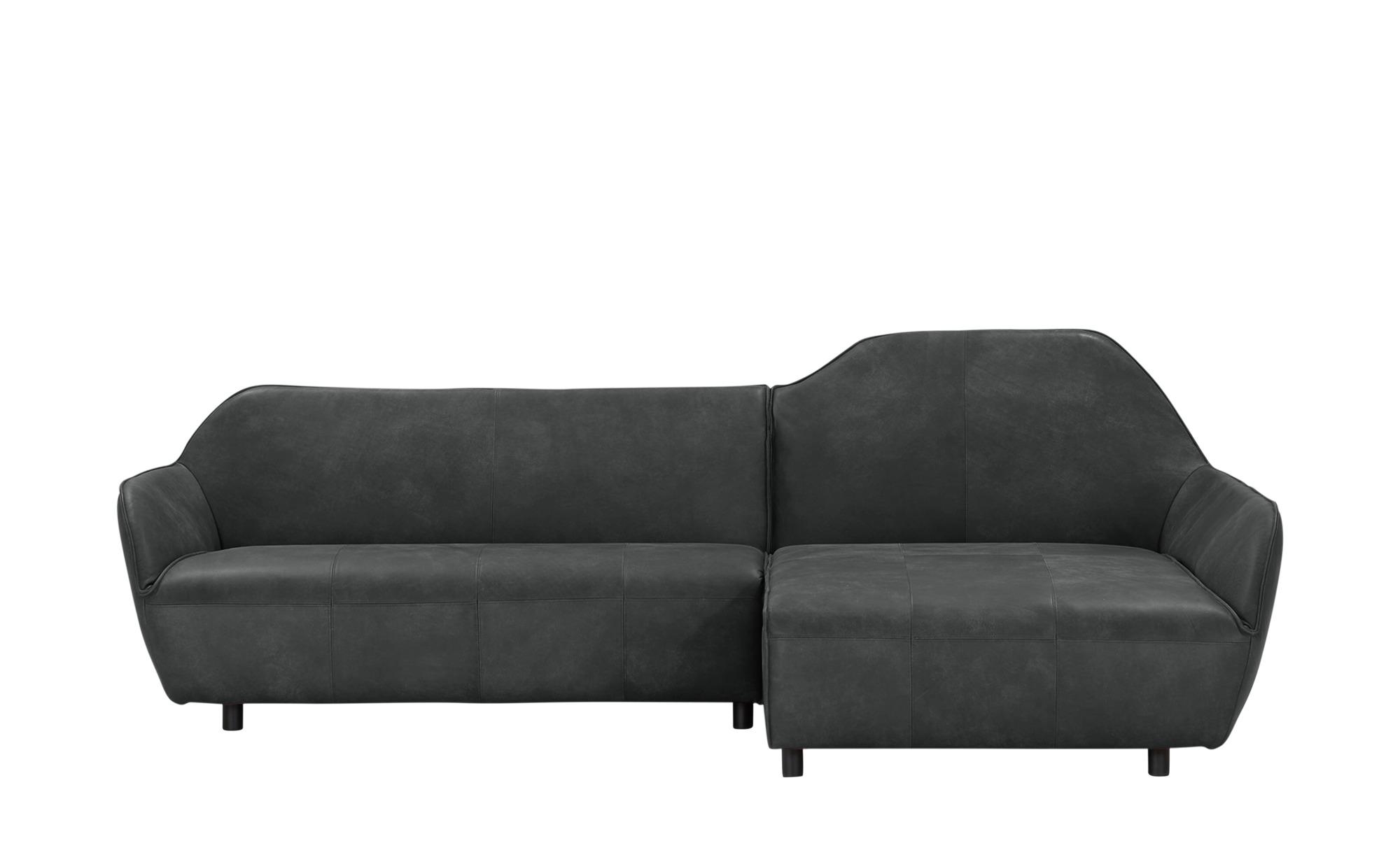 hülsta Sofa Ecksofa Leder  HS 480